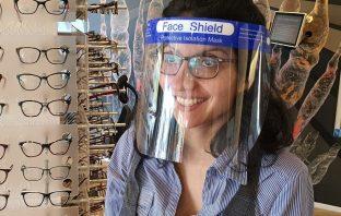 Mondkapje dragen met bril